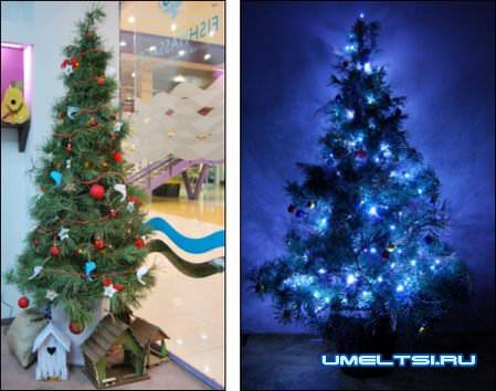 Мастер-класс по изготовлению новогодней елки