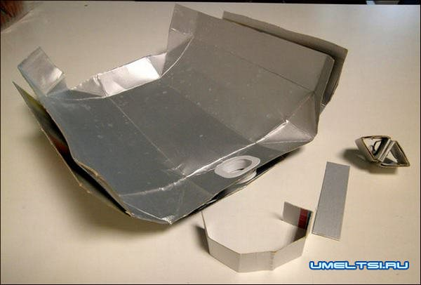 светильник с тетра упаковки
