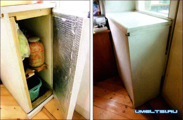 Мини-кладовка для домашних заготовок