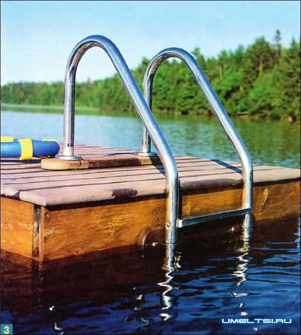 понтон для купания