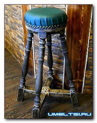 Барный стул своими руками в стиле кантри