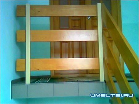 Межэтажная лестница своими руками