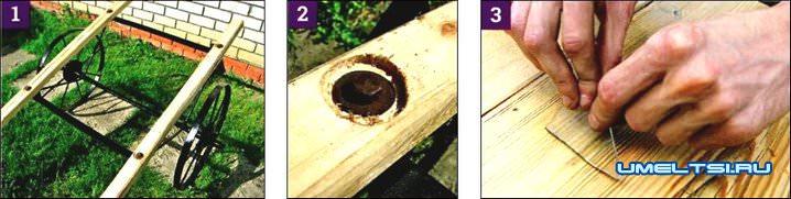 Реставрация ручной телеги