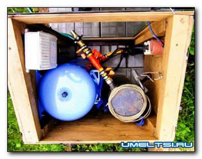 Устройство напорного водопровода