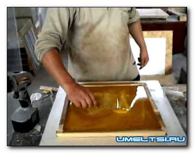 изготовления формы для искусственного камня