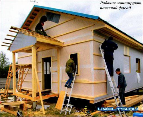Каркасные домокомплекты для самостоятельной сборки
