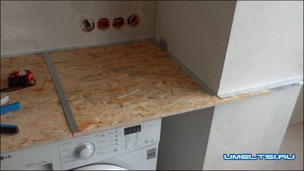 Столешница из осб плиты столешница для ванной комнаты дерево 75 см