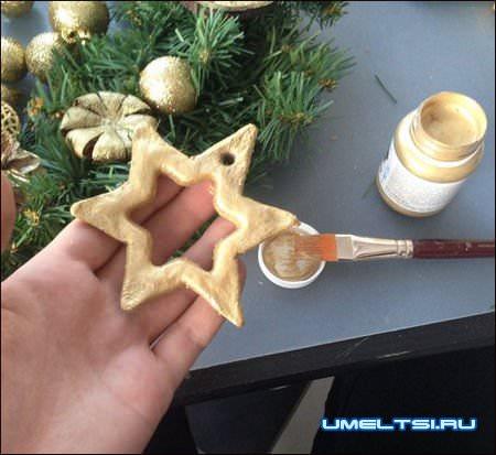 Рождественский венок мастер-класс