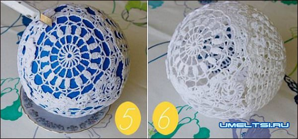 Филигранные новогодние шары