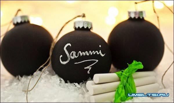 Новогодние шары своими руками. Интересные идеи и мастер-классы.