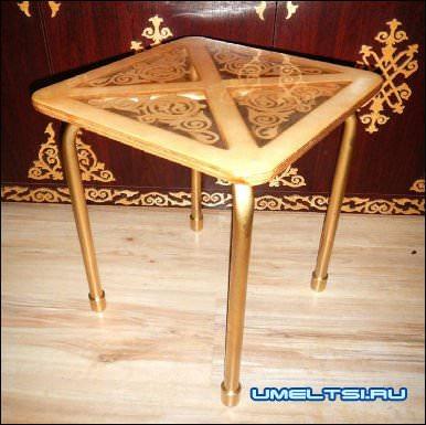 Ажурная мебель для кухни