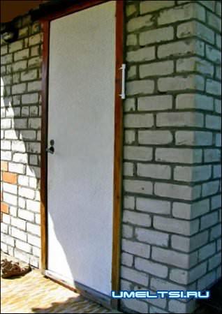 Как установить металлическую входную дверь-ход работ