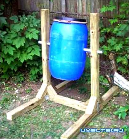 Приспособления для хранения компоста