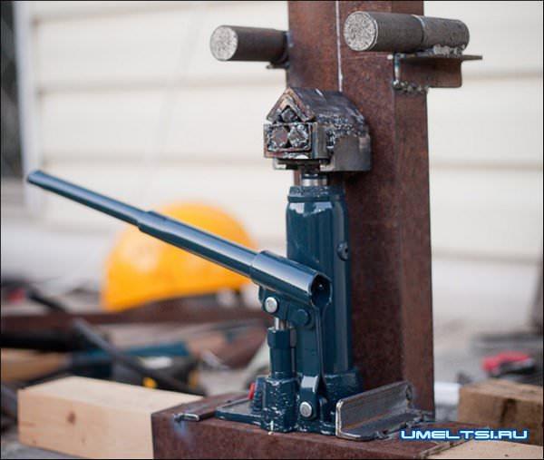 Гибочный станок для металла своими руками