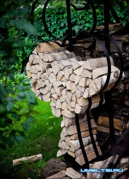к укладке дров