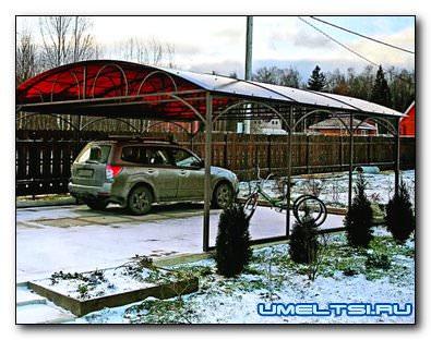 Автомобиль на даче: в гараж или под навес?