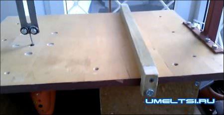 Стол для электролобзика своими руками с чертежами