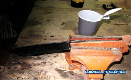изготовления ножа своими руками