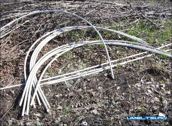 Парник из пластиковых труб