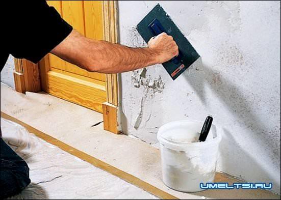 Имитация кирпичной кладки своими руками
