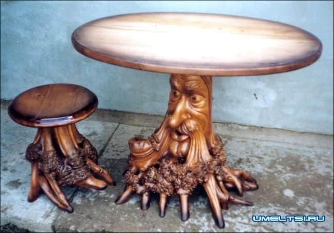 Стол -корень