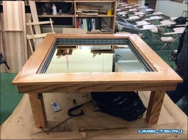 Журнальный столик с LED