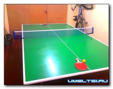 Стол для тенниса своими руками