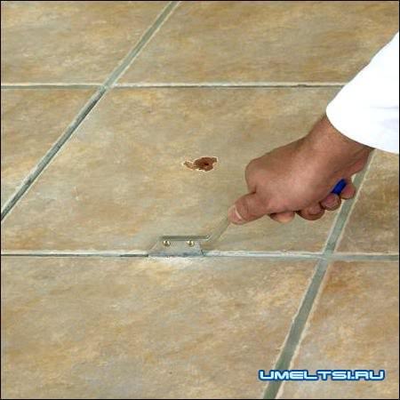 Как заменить сломанную плитку своими руками