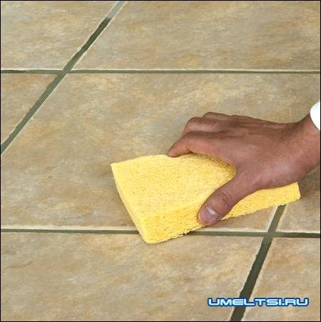 Замена сломанной плитки своими руками