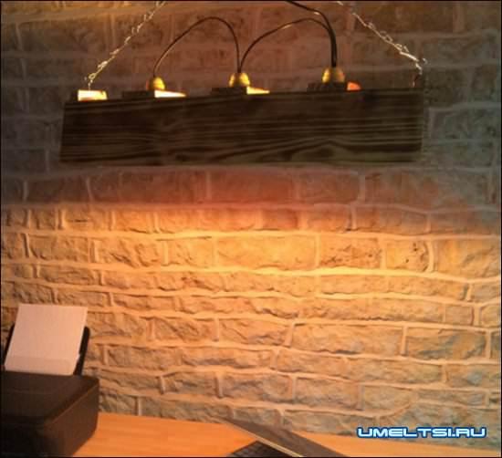 Идеи для уникальных светильников из дерева