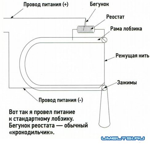 Инструмент для резки пенопласта