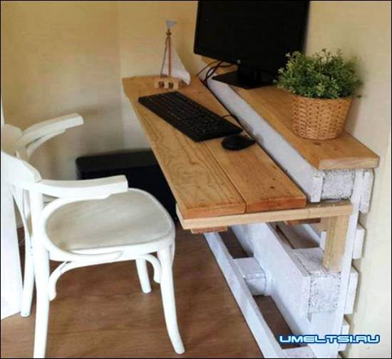 стол из поддонов своими руками