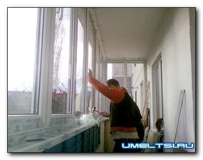 Самостоятельное остекление балкона и лоджии