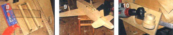 Люстра-самолет