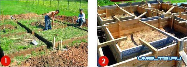 Пошаговая интрукция по постройке сруба бани