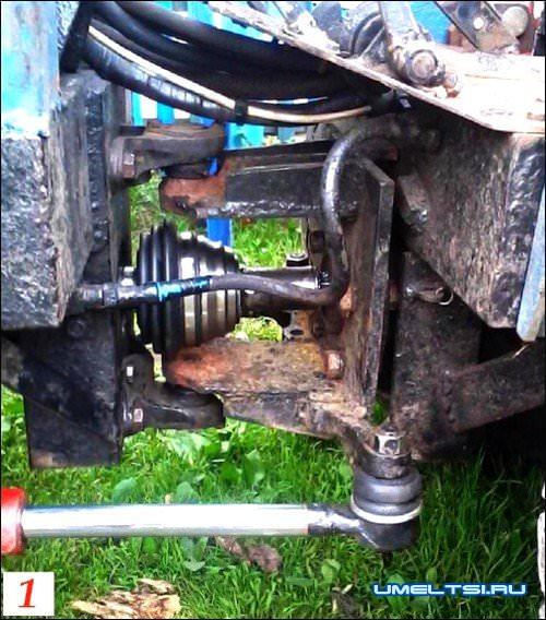 Сборка домашнего мини трактора