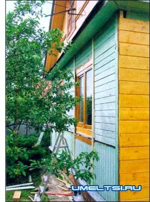 Наружная отделка фасадов частного дома