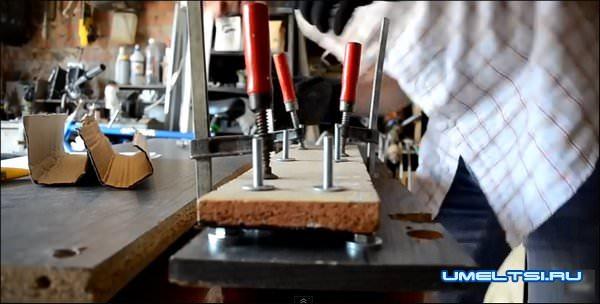 лук из ПВХ трубы-ход работ