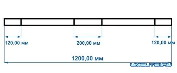 размеры лука