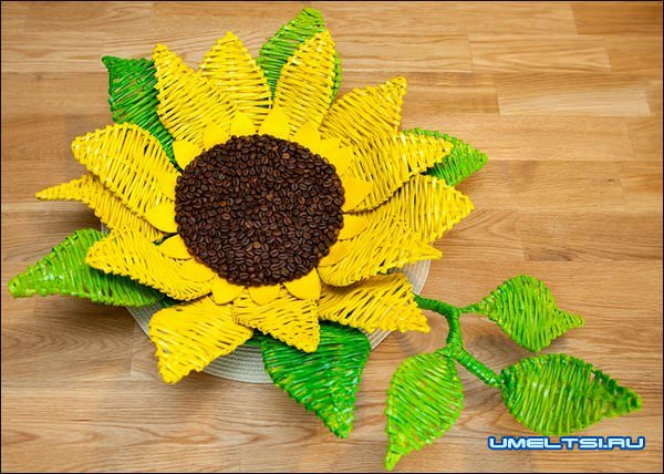 Плетение цветов