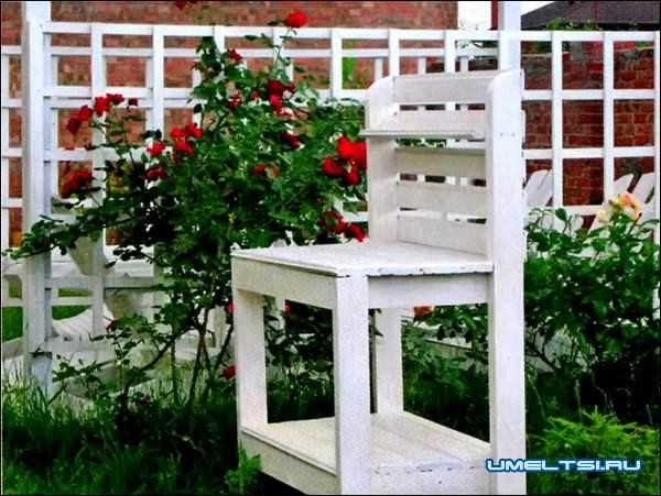 Столик садовника чертеж