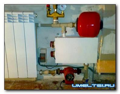 Водяной электрокотел для отопления частного дома