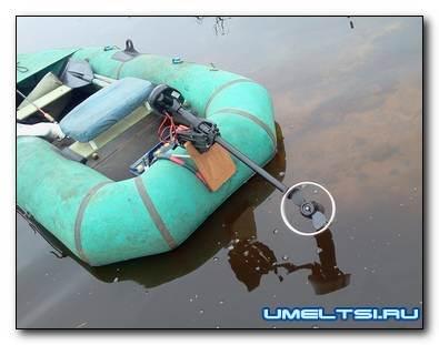 Подвесной электромотор для лодки своими руками