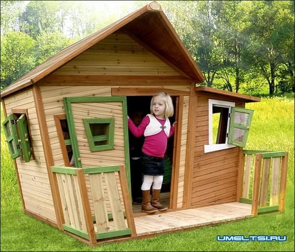 Детский домик фото