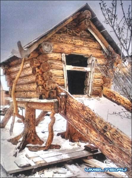 Сделать декоративный домик для сада своими руками фото 707