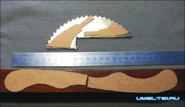 Как сделать нож своими руками в домашних условиях? 6