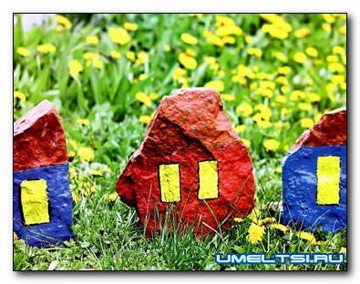 Камни-как материал для украшения сада