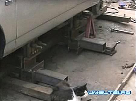 стапель для кузовного ремонта