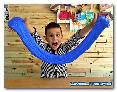 Как сделать игрушку Лизуна в домашних условиях