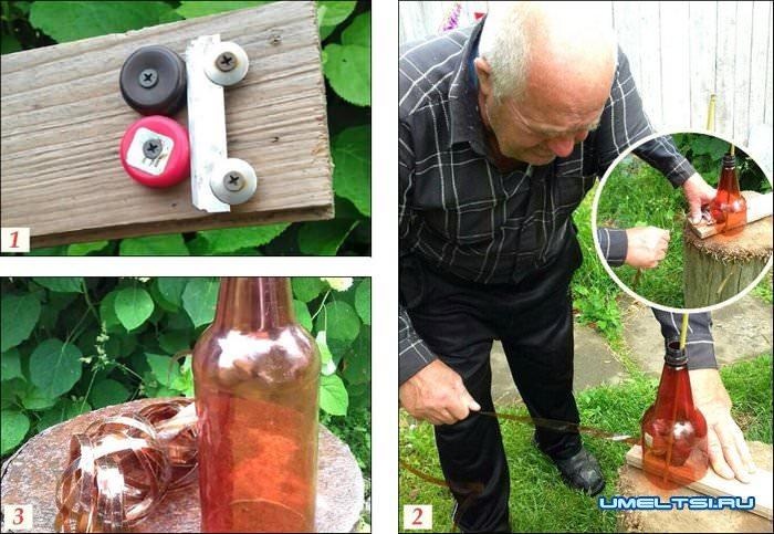 корзинка из пластиковых бутылок